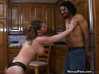 Busty Mom Needs Black Cock Now