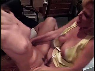 Randi Storm - Lesbian Sex At The Office