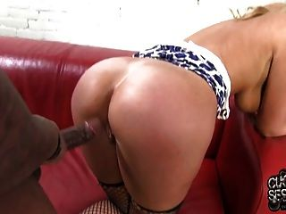 Alysha Rylee Rides Bbc In Front Of Humiliated Cuckold