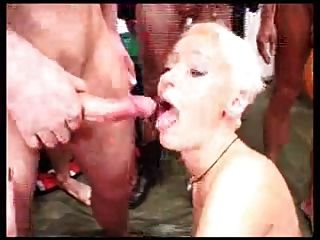 Blonde Slut Disgusted By Huge Facial