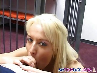 Fucking The Hot Blonde Prisoner