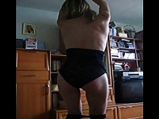Saggy Titted Wife Dancing 1