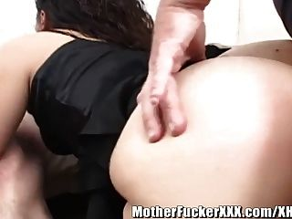 Asian Housewife Gang Banged B Y White Cocks