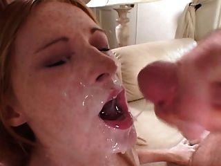 Freckled Redhead Cum Ooze