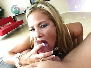 Blonde Hooker Sucks Cock