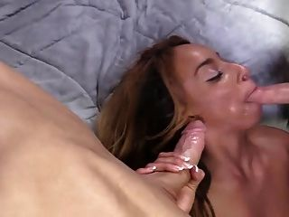 Black Pussy Filled With Cum