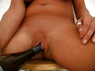 Busty German Girl With Cumshot