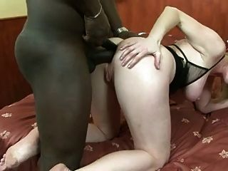 Mature Needs A Black Dildo Then A Black Cock