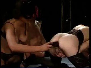 Pierced German Milf Slut Anita With Pussy Rings Anal