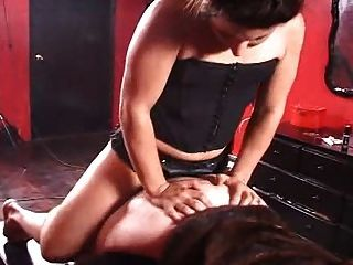 Mistress Fucks Slave With Strapon 2