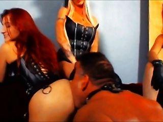 Stooge Slut For Three Mistresses