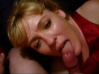 Lovely Lick-job From Beautiful Lady In Red!