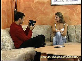 Pickup Young German Teen