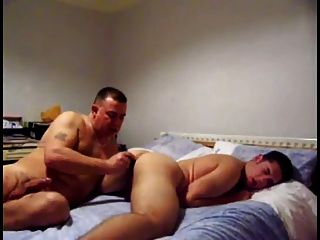 Daddy And Boy With Dildo Than Fuck