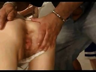 Old Slut With 5 Guys