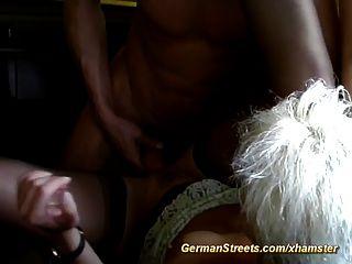 German Milf Pickup For Hard Car Fuck