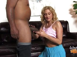 Old White Mom Rides Bbc In Front Of Son