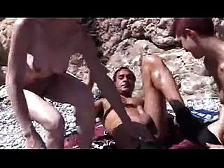 Beach Foursome Part 1 Of 2