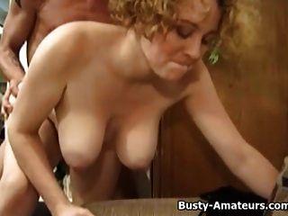 Busty Samantha Getting Banged