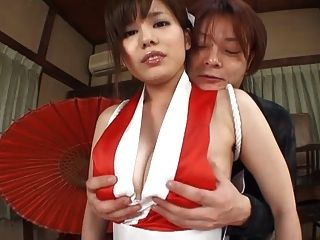 Incredible Asian Babe With Huge Tits