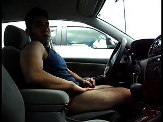Str8 Men Play In The Parking