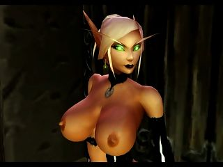 Hot Blood Elf