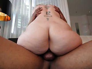 Busty Hot Blonde Loves Interracial 2