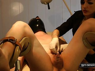 Kinky Nurse Play - Pain For His Dick
