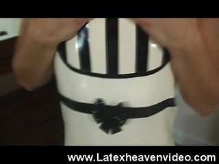 Teen Strips In Latex