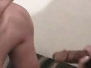Horny Bbw Gets A Big Facial