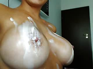 Webcam Milf Boobs And Lotion