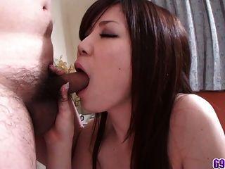 Wild And Horny Babe Ichigo Get A Creampie