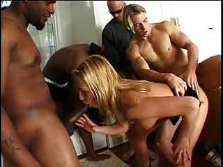 Gangbang For A Lovely Hungarian