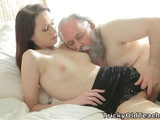 Tricky Old Teacher - Alina Loves To Get Good Grades