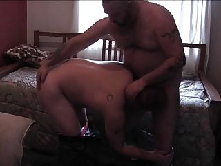 Big Daddy Opens The Pooch Dick And Sucks In Mouth