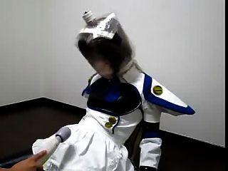 Kigurumi Breathplay With Vibrator