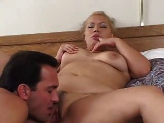 Sexy Blonde Chubby Takes It In Pussy And Ass