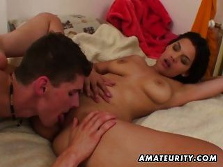 Hot Amateur Teen Sucks And Fucks With Cumshot