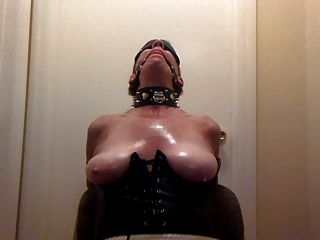 Hot Wife Chair Tied