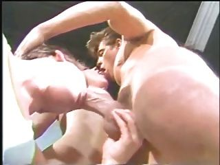 Classic Bisexual Trio  With Jeff Stryker   -  Nial