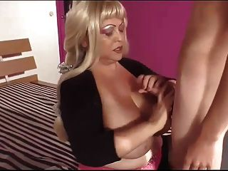 Blond Bbw And Her Baby Toy