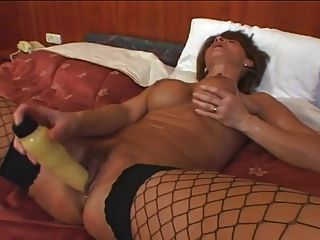 Tunde Sucks A Dildo And Probes Her Pussy Before Fucking