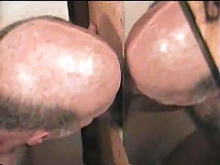 Moustache Daddy Sucking And Shotting On Mirror