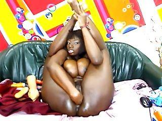 Beautyful Black Girl On Cam