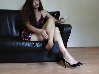 Bare Legs Dangling