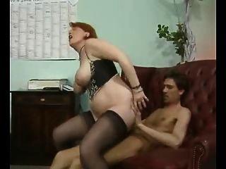 Big Tits Mature Double Penetration