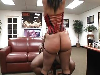 Thick Redbone Tia Cherry Get Fucked In A Office