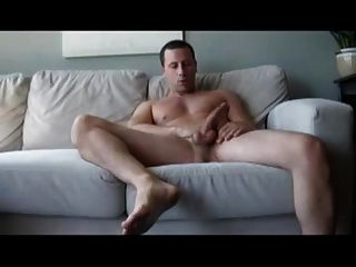 Str8 Guy Stroke On Couch