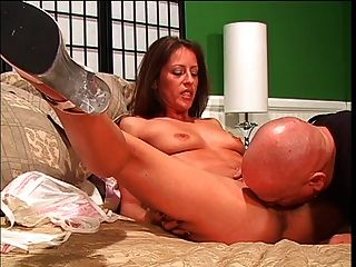 Mature Brunette Banged Hard
