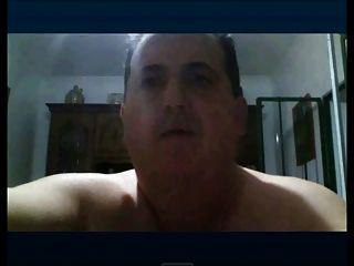 Chubby Daddy Wanking Webcam